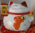 Resin Wealthy Cat Art Craft