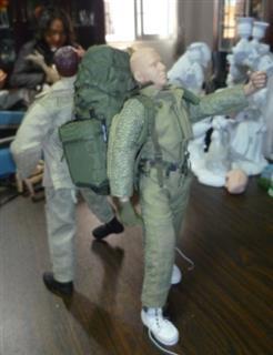 1/6 PVC Articulation Soldier Action Figures