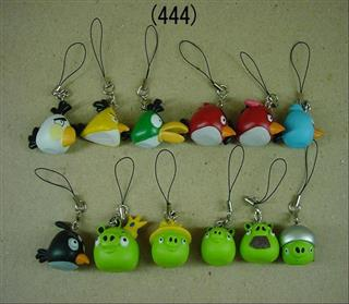 PVC Angry Bird Mobile Accessories Promo Gift