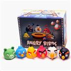 PVC Angry Bird Google-eyed Figurine Toy