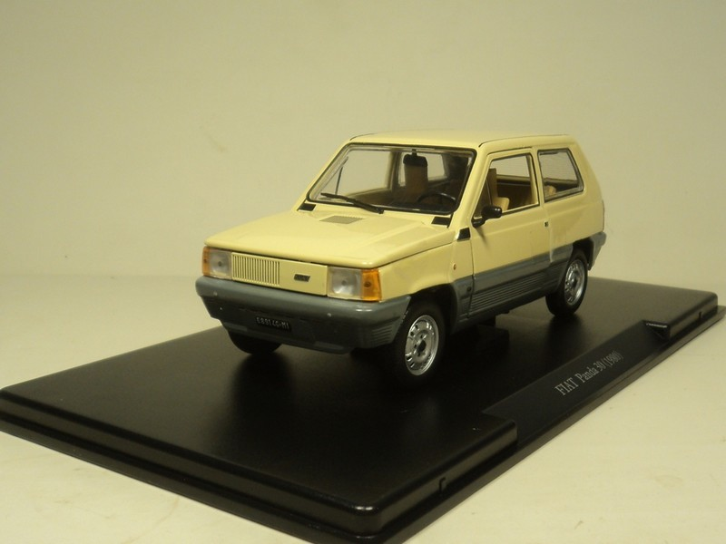 1980 FIAT PANDA 30 classic old style 1/24 die cast custom model ...