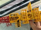 cutomized 1/75 scale diecast tower cranes model client gifts producer