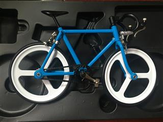 Customized make 3D metal miniature 1/8 scale diecast bicycle model