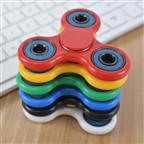 custom mini plastic hand fidget spinner toy China manufacturer