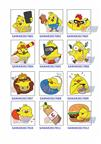 pre-order 3D custom rooster fridge magnets wholesale China factory