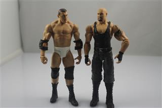 OEM custom pvc articulation movable wwe wrestling action figure toys